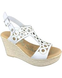 Oh My Sandals Sandaals 4597 - Wit