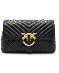 Pinko Bag Love Lady Puff V Quilt - Zwart
