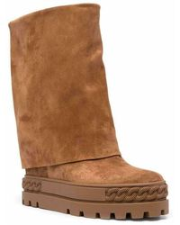 Casadei Boots Marrón