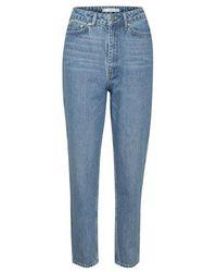 Gestuz Denagz Mom Jeans Noos Bukser 10905382 - Blauw