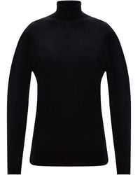 Marni Wool Turtleneck Sweater - Zwart