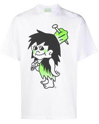 Aries Caveman T-shirt - Wit