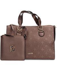 Liu Jo N69064 E0054 Hand Bag And Clutch Women Beige - Bruin