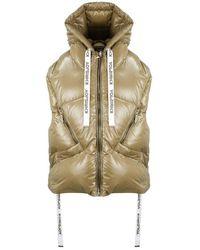 Khrisjoy Puff Shiny Vest - Bruin