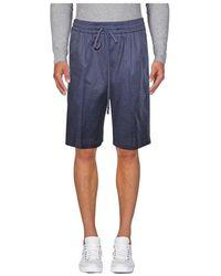 Paolo Pecora Shorts - Bleu