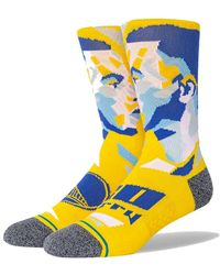 Stance Socks Curry Profiler A558d20cup.yel - Geel