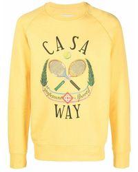 CASABLANCA Sweater - Geel