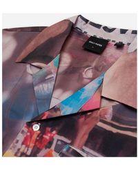 Daily Paper Kovan Collage Shirt Morado