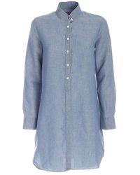 Mc2 Saint Barth Shirt denl17 - Bleu