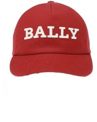 Bally Branded Baseball Cap - Rood