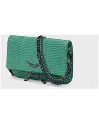 Zadig & Voltaire Rock Nano Bag Verde