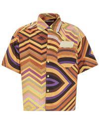 Formy Studio Crono shirt - Amarillo
