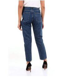 Current/Elliott 002761Pt00953 boyfriend jeans Azul