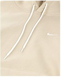 Nike NRG Solo Swoosh Sudadera con capucha Beige - Neutro