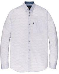 Vanguard Long Sleeve Shirt - Wit