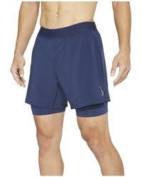 Nike Pantalones Cortos - Blauw