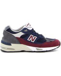 New Balance 991 Sneakers - Zwart