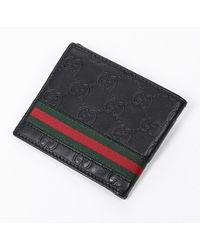 Ottod'Ame Web Bifold Wallet Negro