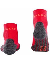FALKE TK2 Short Cool socks Rojo