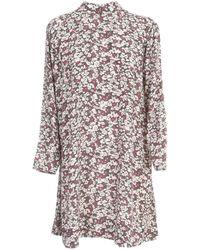 Ganni - Printed Dress - Lyst