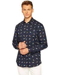 Guess Shirt - Blauw