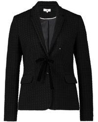CKS Blazer Met Of Zonder Strik Marilotte , Black - Size 36 / S - Zwart