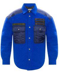 DIESEL Wool Jacket - Blauw