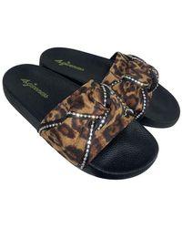 4giveness Sandals Fgaw0925-200 - Noir