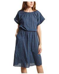 Bellerose Diallo Floral Pattern Dress - Blauw