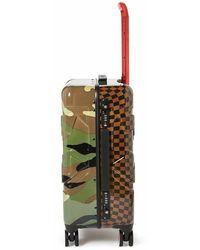 Sprayground Trolley checks e camouflage Verde