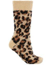 Balenciaga Socks With Animal Pattern - Bruin