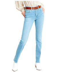 Levi's Pantalon Vaquero Levis 724 - Blauw