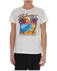 Essentiel Antwerp T-shirt Met Grafisch Logo - Wit
