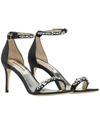 Custommade• Maggie Crystal Sandals - Nero