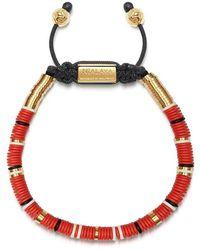 Nialaya Beaded Bracelet - Rood