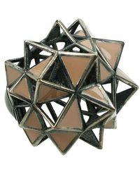 Bottega Veneta Jewelry Ring - Grijs