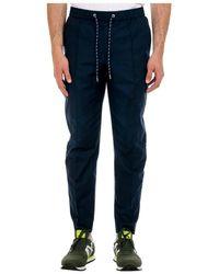 Michael Kors Pantalón Modern Oxford - Blauw