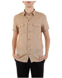 Yes-Zee Short Sleeve Shirt - Naturel