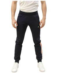 Le Coq Sportif Pantaloni - Negro