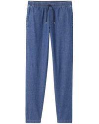 A.P.C. Pantalone New Kaplan - Blauw