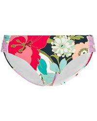 Trina Turk Bikini Bottom Shirred Hipster - Rood
