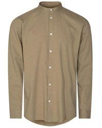 Minimum Anholt Shirt Elmwood - Groen