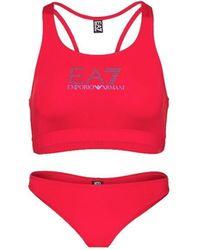 EA7 Bikini 911076 1P402 - Rouge