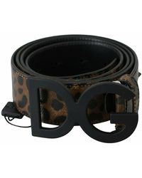 Dolce & Gabbana Belt - Zwart