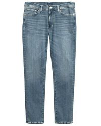 GANT Jeans Maxen Active-recover Extra Slim Fit - Blauw