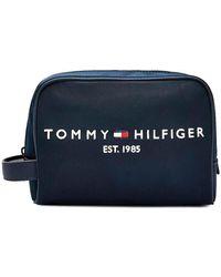 Tommy Hilfiger Toilet Bag - Blauw