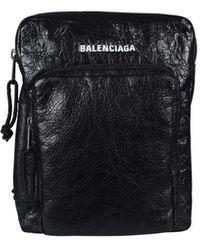 Balenciaga Explorer Pouch - Zwart