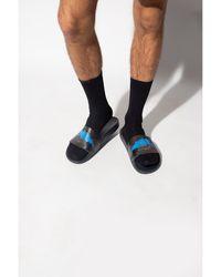 Moncler Basile Slides Negro