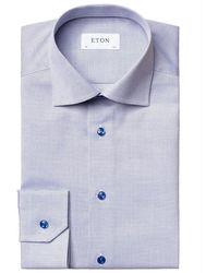 Eton - Slimfit Overhemd - Lyst