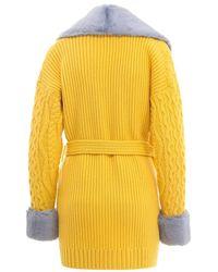Blumarine Coat Amarillo